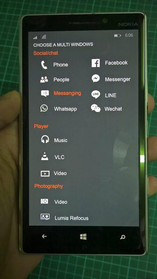 تصاویر ویندوزفون با قابلیت multi-window