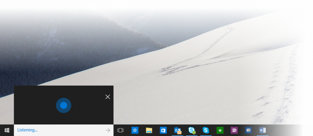 cortana windows 10 build 10130