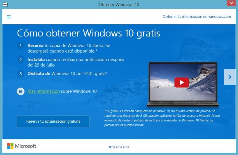 Windows 10 y su precio según Microsoft