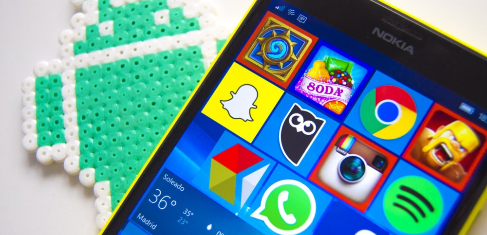 Instalar apps de Android en WindowsPhone