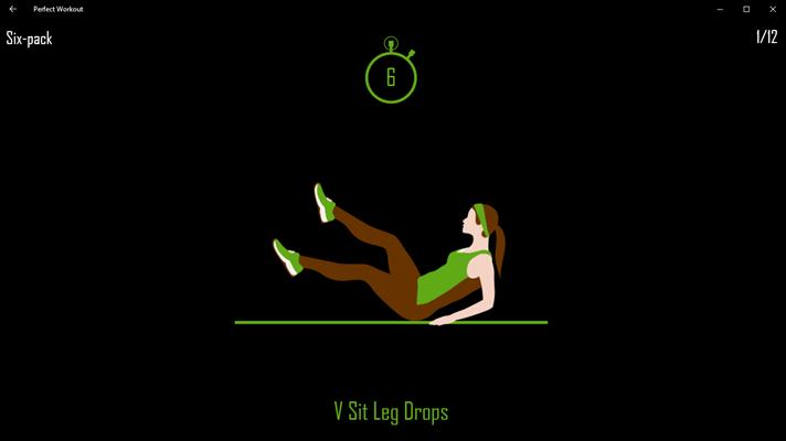 Ejercicio en Perfect Workout