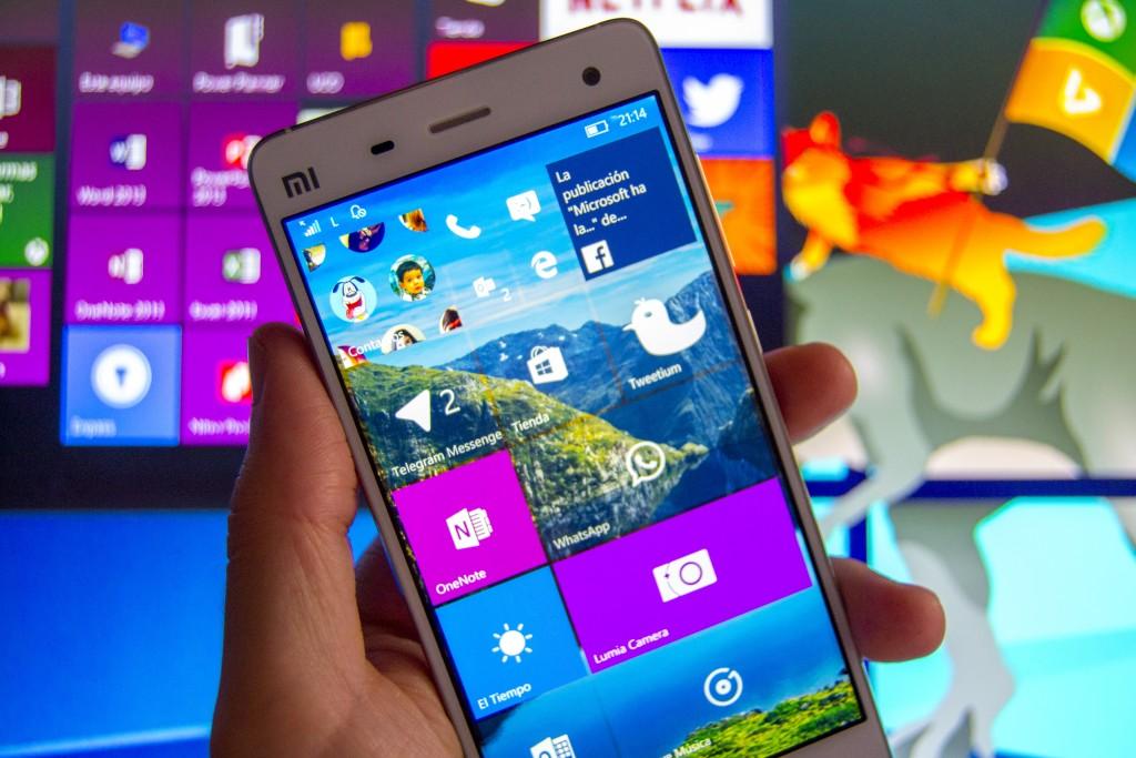 Xiaomi Windows 10 Mobile