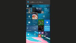 Aviso de Cortana, SMS enviado
