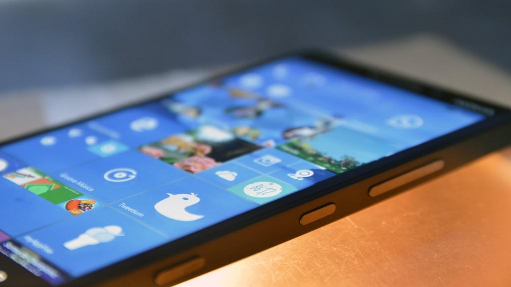 Imagen de un Lumia con Windows 10 Mobile
