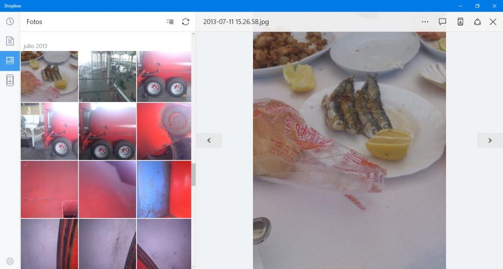 Podremos acceder a las fotos recientes