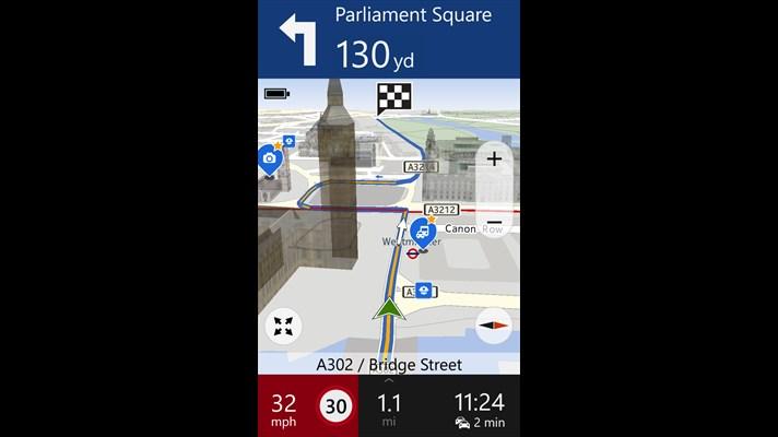 Navegación GPS por voz