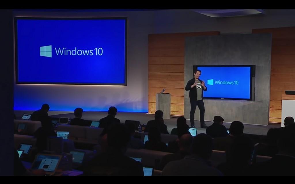 Evento presentación Windows 10