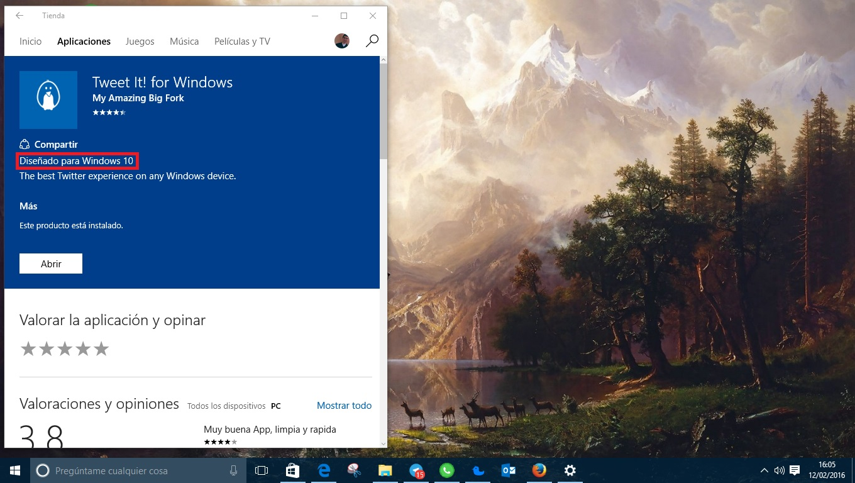 Tweet It para Windows 10