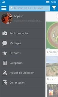CasiNuevo.net, la nueva aplicación de compra de segunda mano de Windows Phone