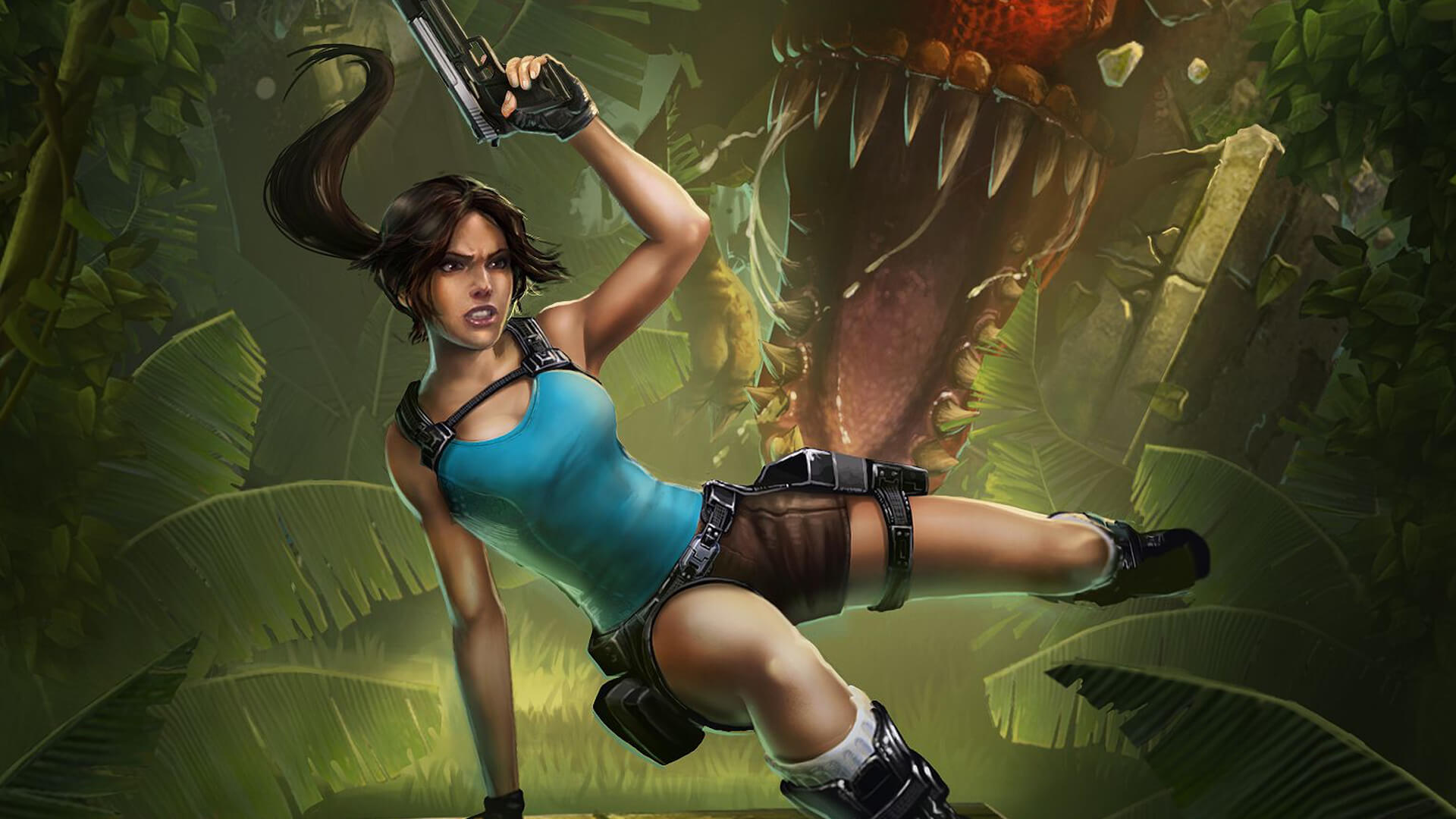 Laura croft get banged by monsters naked images
