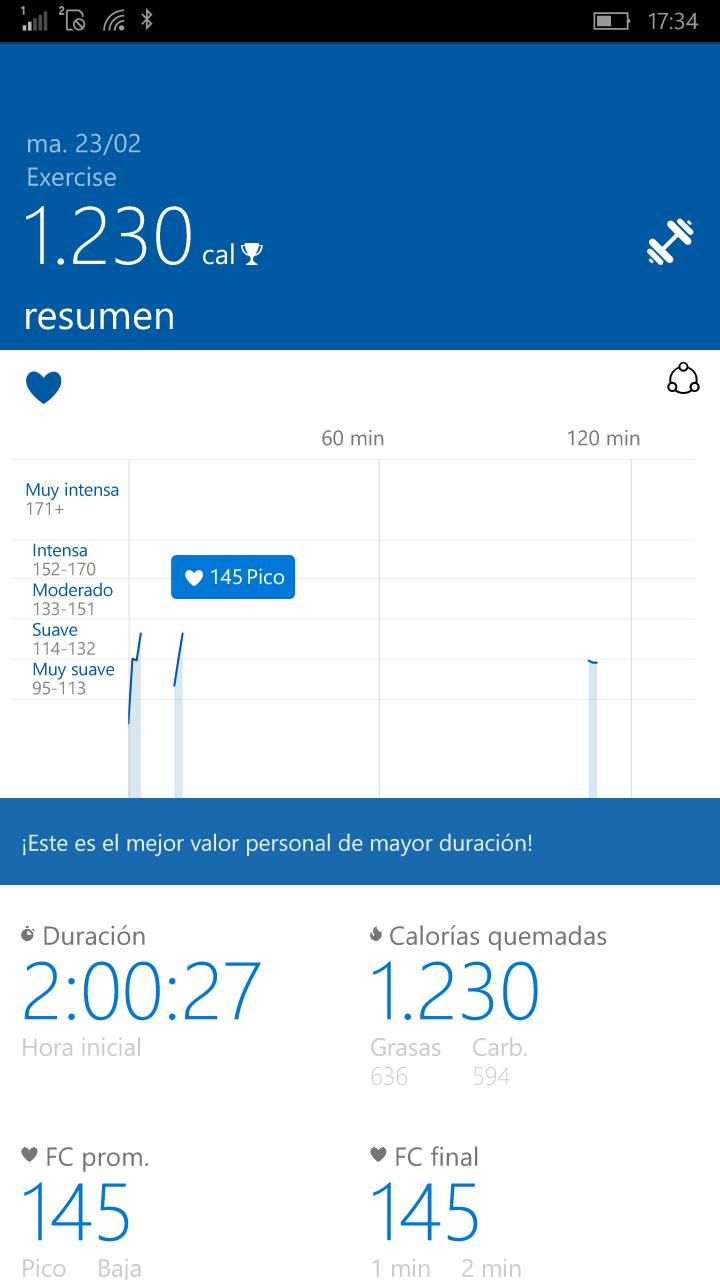 Actualización de Microsoft Heath