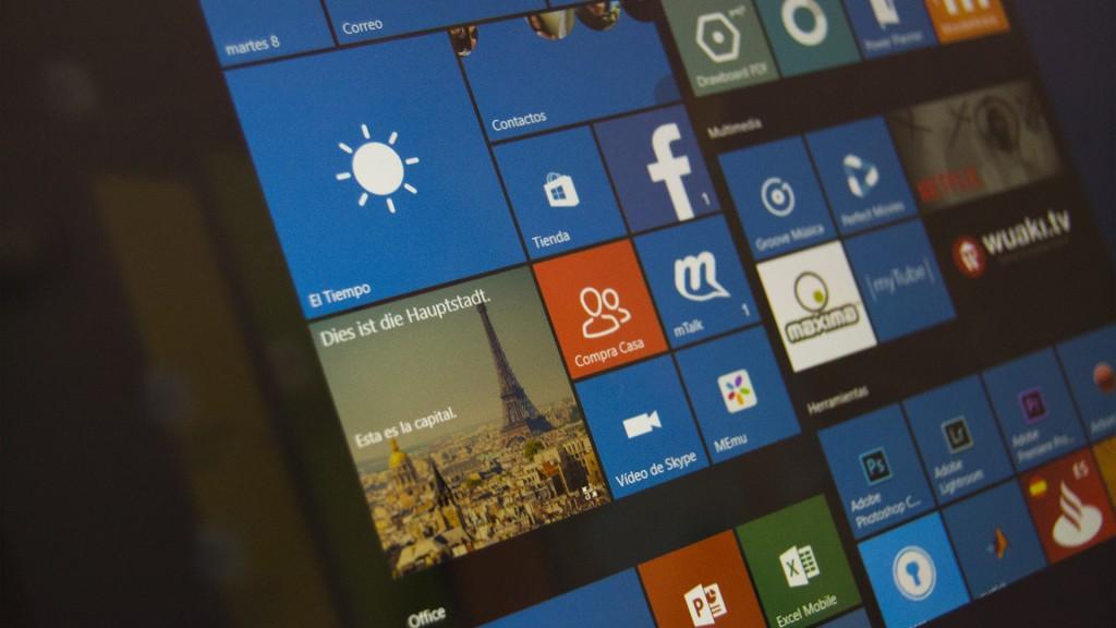Aplicaciones en Windows