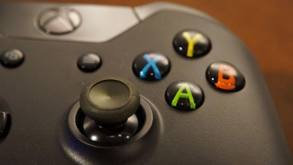 Imagen macro del mando de Xbox One