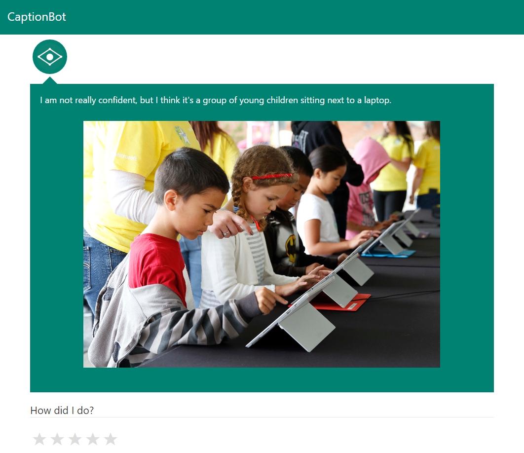 Conocemos CaptionBot, el bot de reconocimiento de imágenes de Microsoft