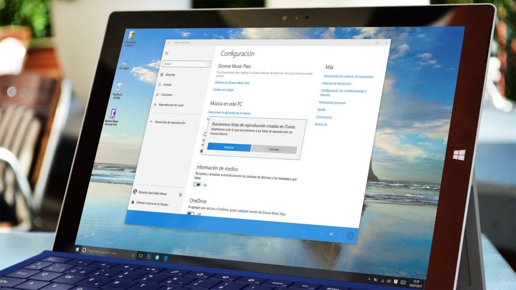 Aplicación para Windows 10
