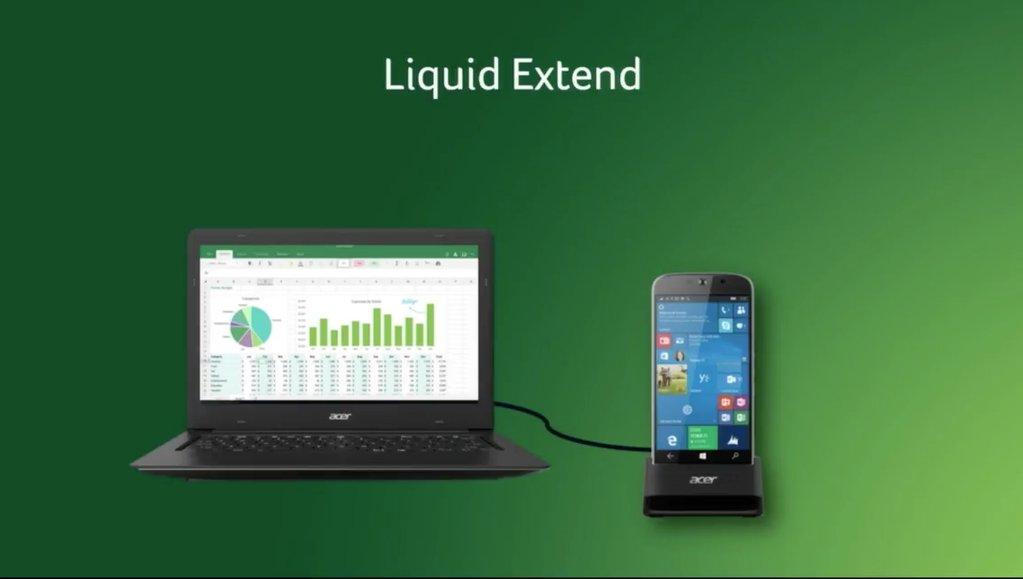 Jade Primo conectado por Continuum al Liquid Extend