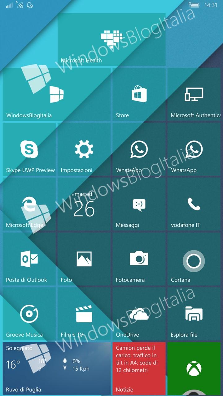 Los tiles transparentes llegan a Microsoft Health