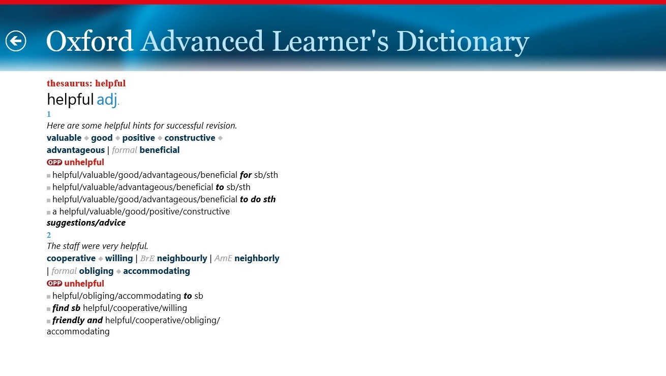 Oxford Advanced Learner's Dictionary ahora en oferta