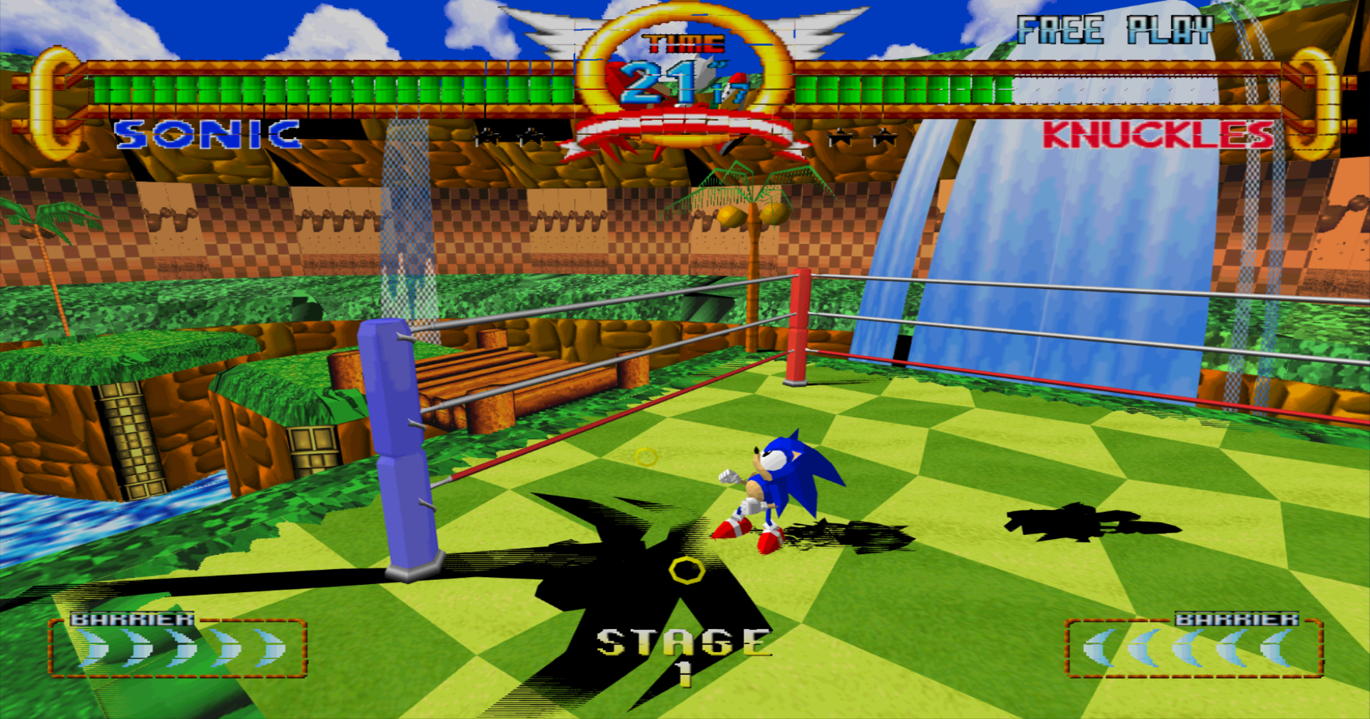 Sonic the Fighters llega a Xbox One