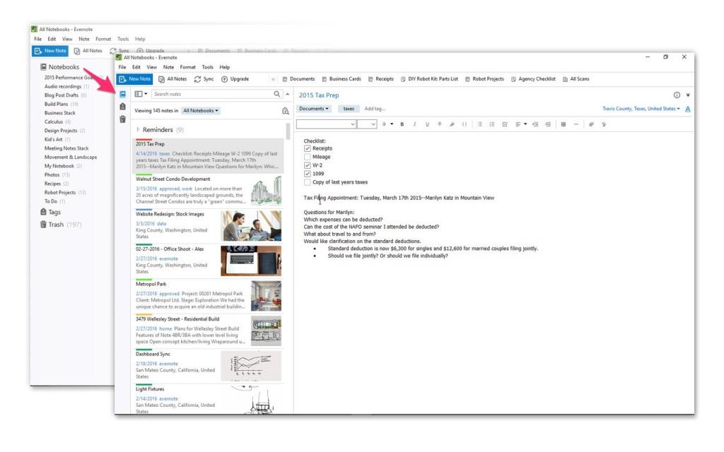 Evernote lanza su nueva aplicación para Windows