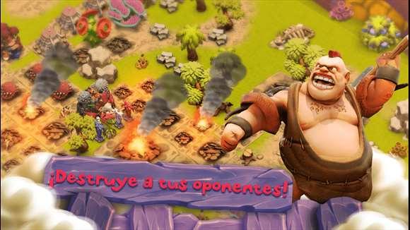 Destruye a tus oponentes