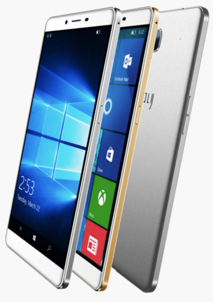 Un nuevo gama media llega a Windows 10 Mobile