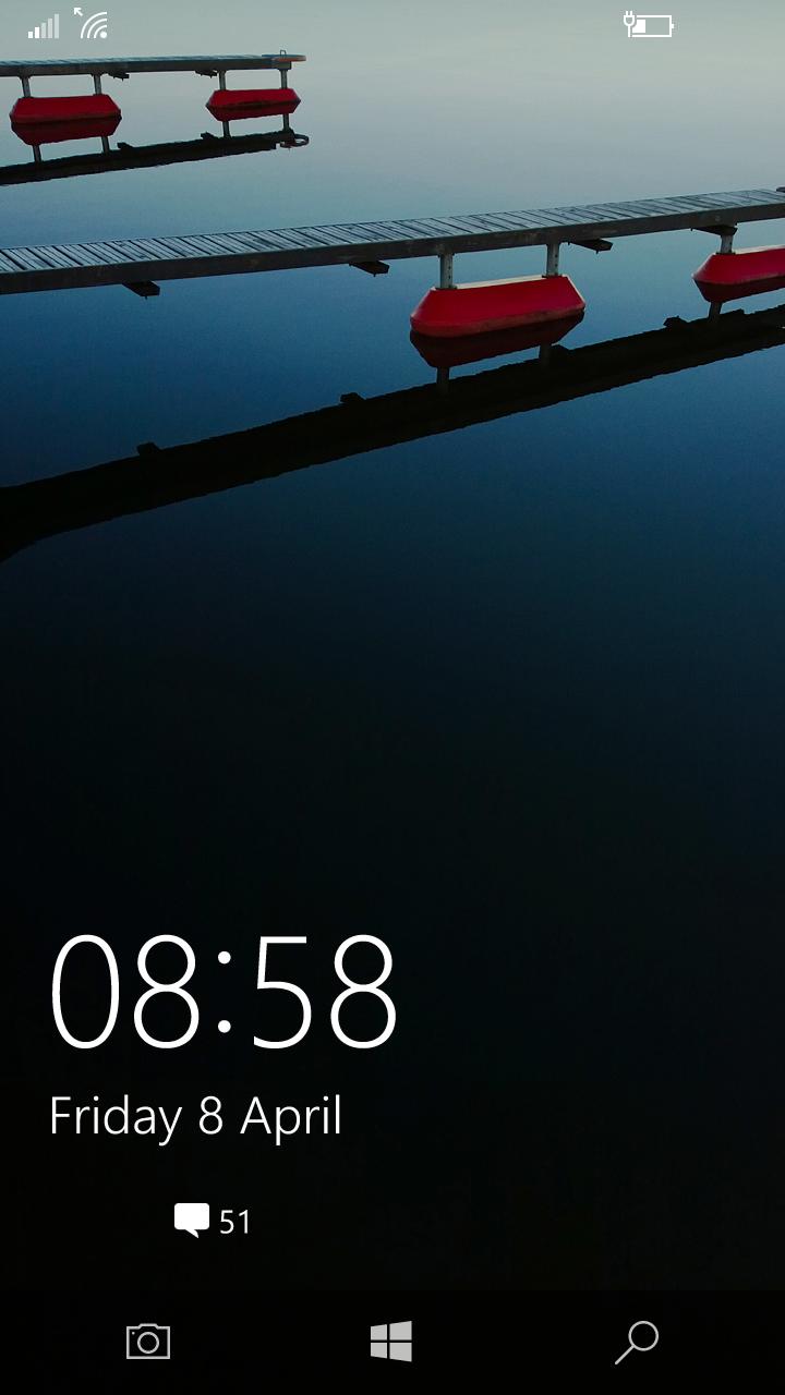 La pantalla de bloqueo podría incluir un acceso rápido en Redstone