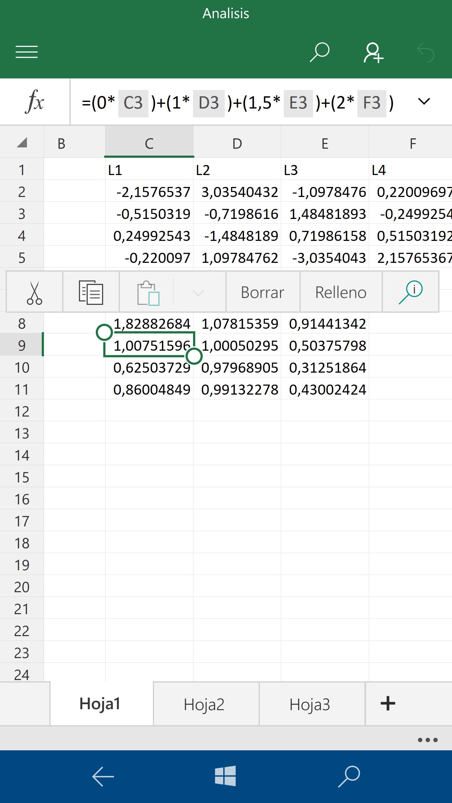 Excel Mobile recibe una nueva actualización