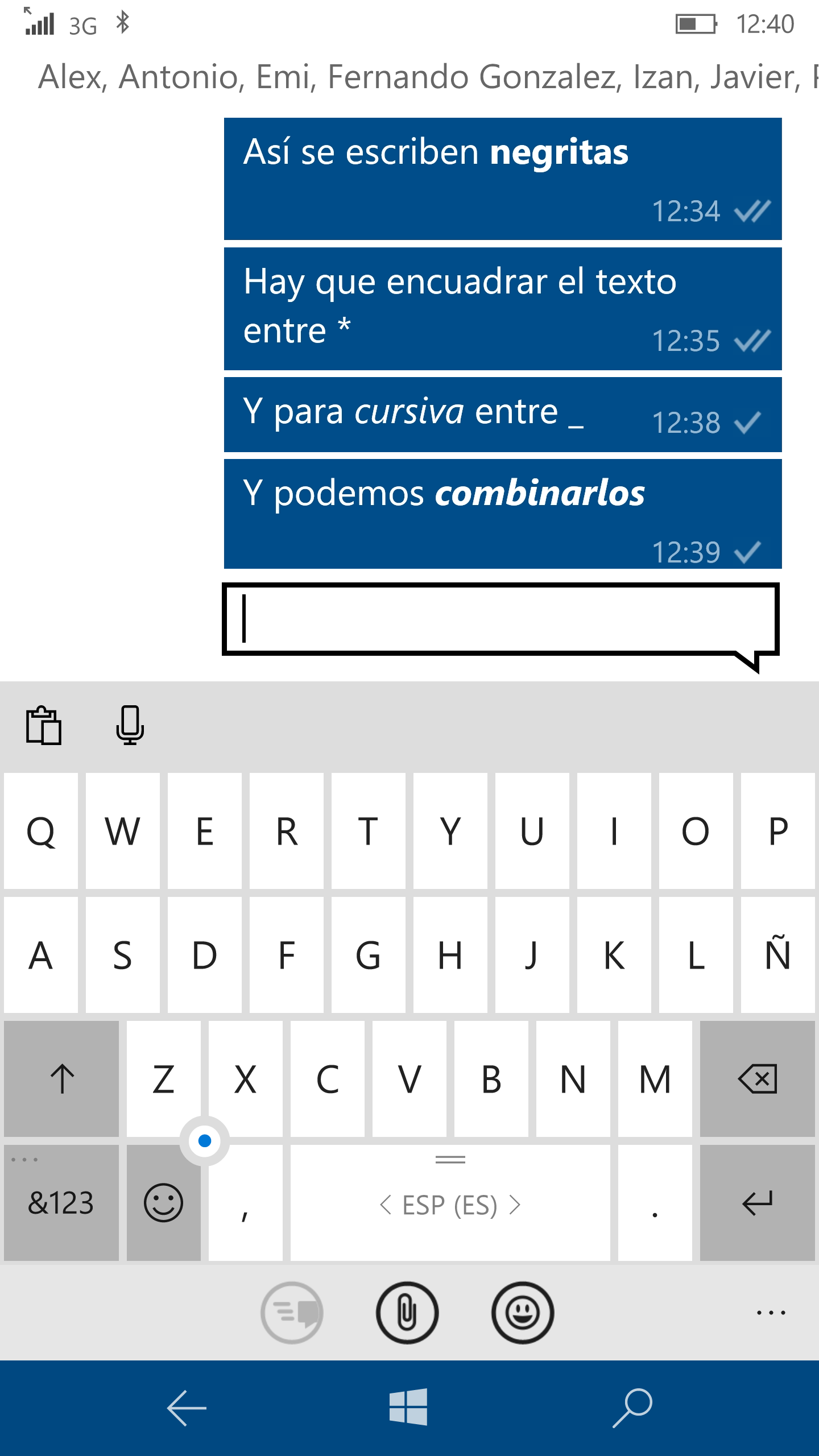 Whatsapp en W10 Mobile