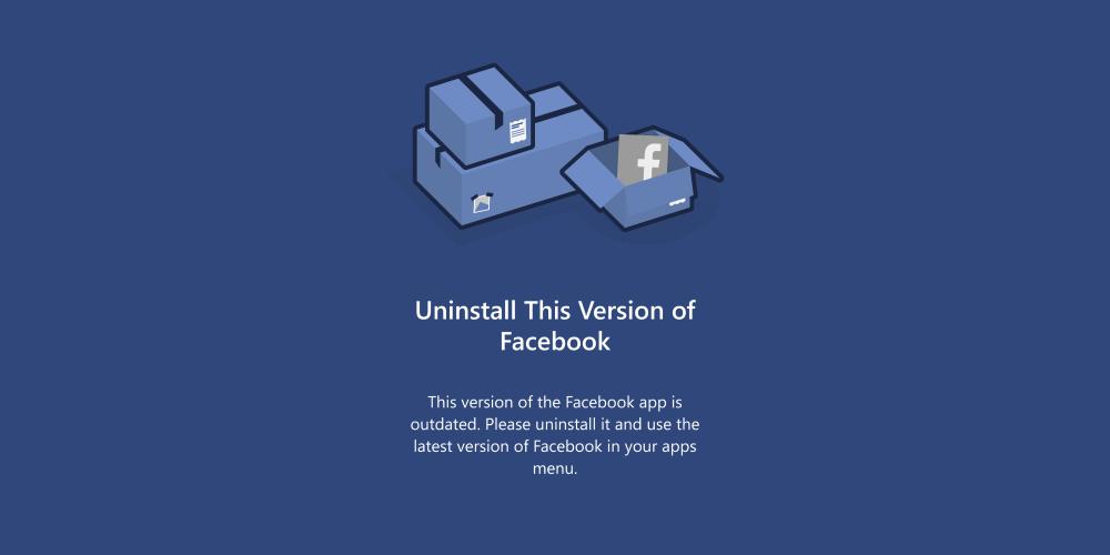 La versión Facebook Beta abandona Windows Phone