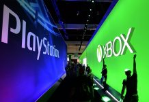 Stands de Xbox y PlayStation en el E3