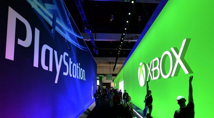 Stands de Xbox y PlayStation en el E3