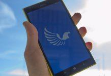 Aeries aplicación universal de Twitter
