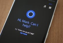 Lumia Icon con Cortana activado