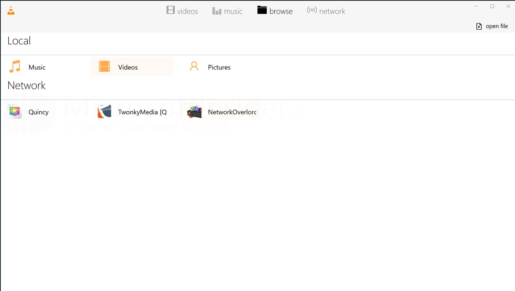 La beta privada de VLC ya está disponible
