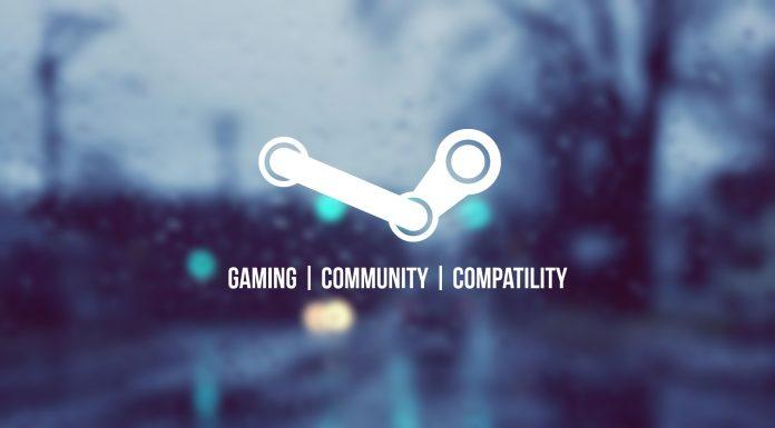 Logo de Steam con fondo