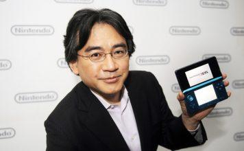 Iwata posa tras evento de Nintendo en el E3