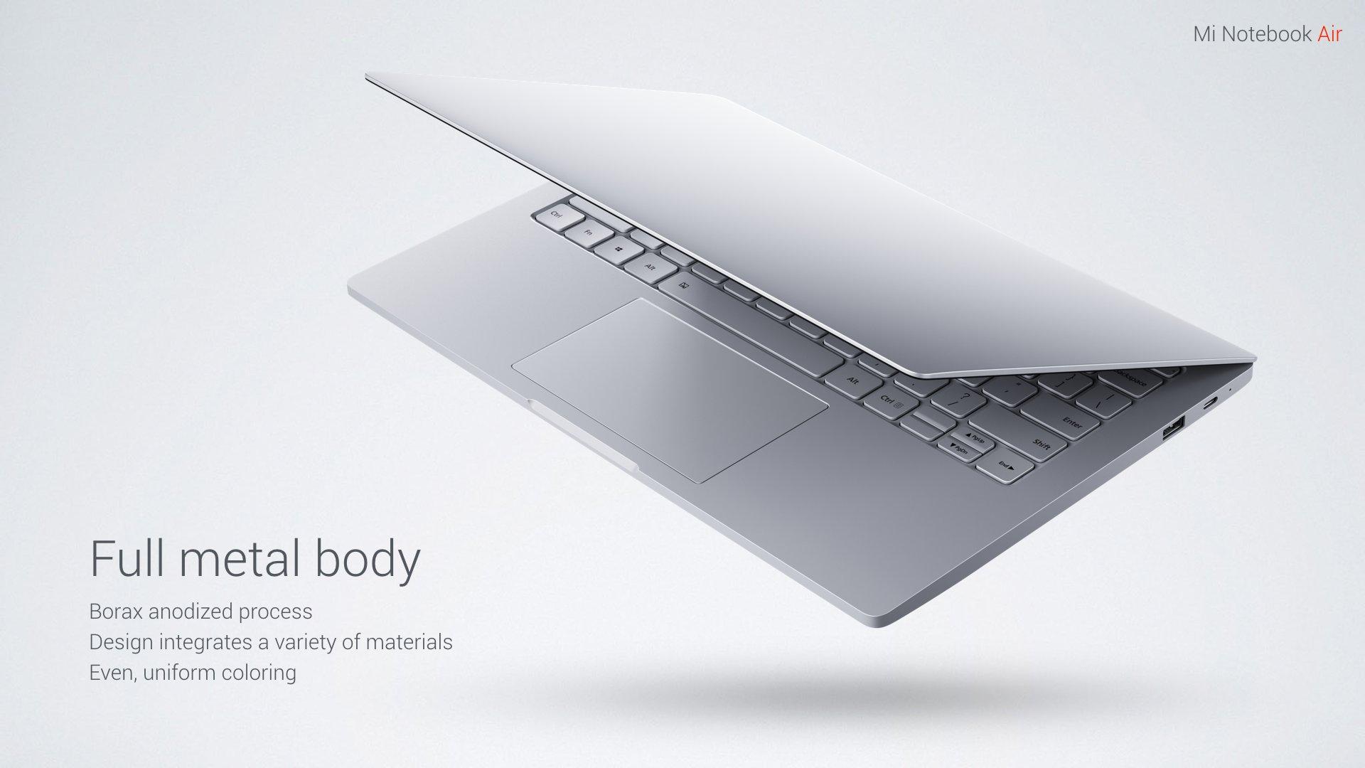 Llega el Mi Notebook Air