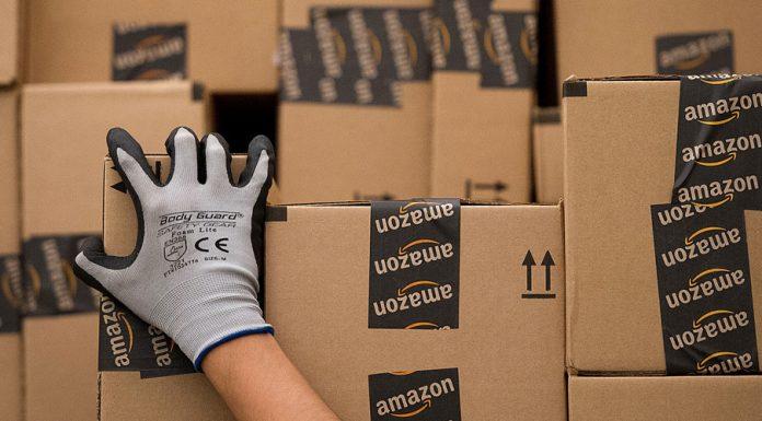Paquetes de Amazon listos para su envío