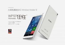 Cube WP10, un phablet con Windows 10 Mobile