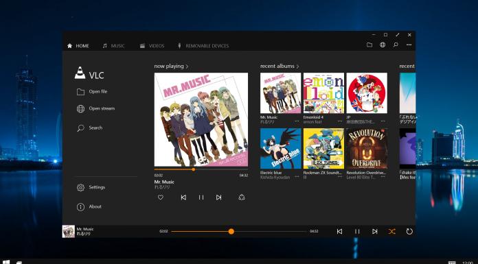 VLC para Windows 10