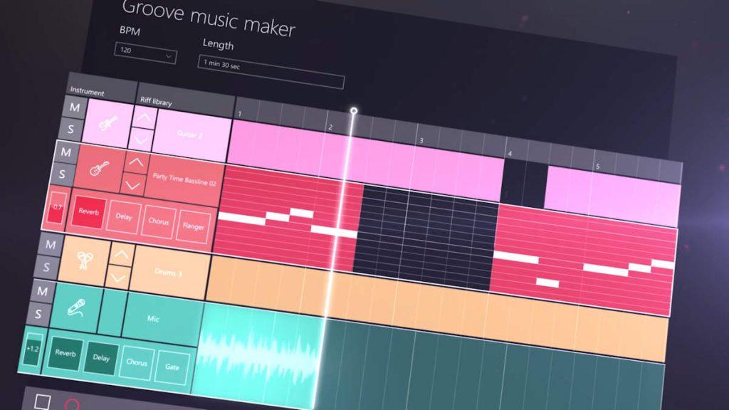 La función creativa llega a Groove