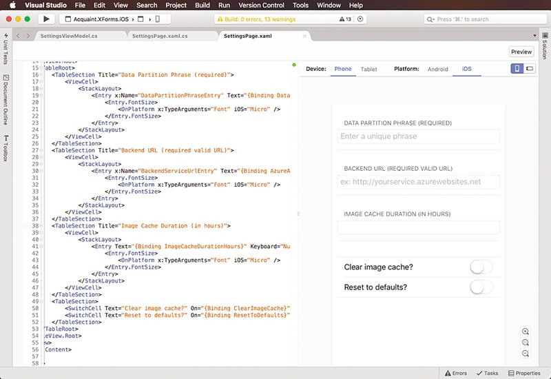 Programando con Xamarin