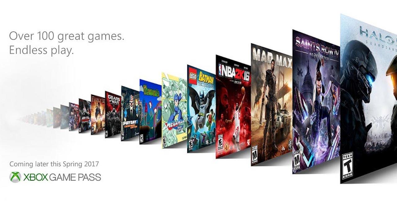 Imagen promocional de Xbox Game Pass